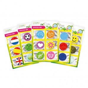 SpotZzz Stickers 30-pack Mix